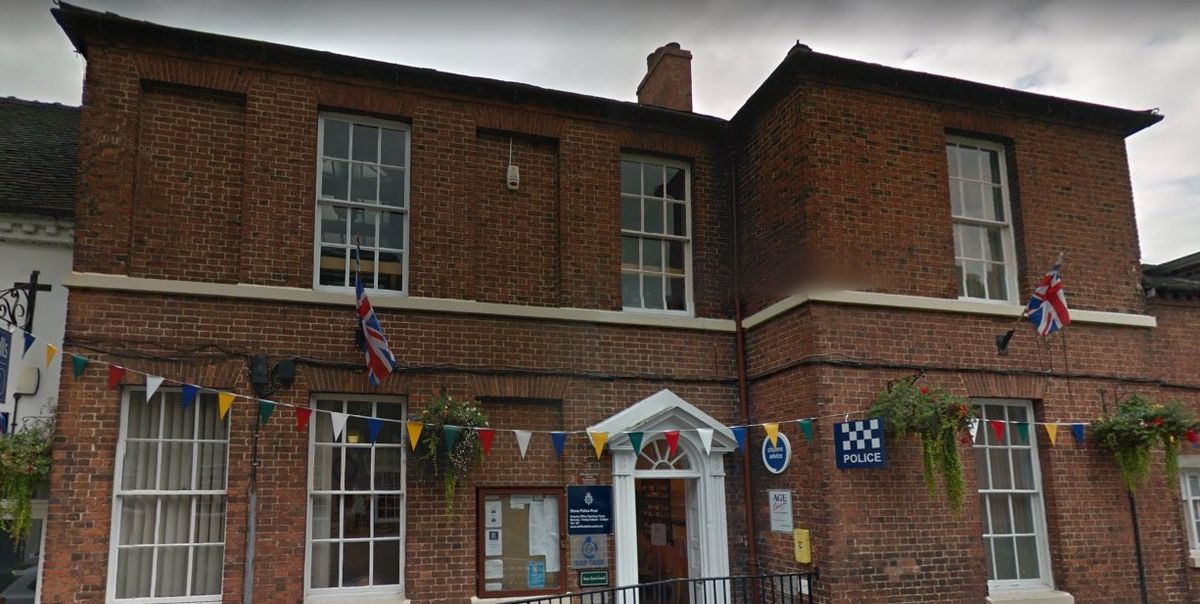 A Google Street View image of Stone Town Council's office in Station Road Stone