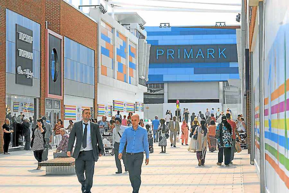 5m visit West Bromwich shopping centre in first year