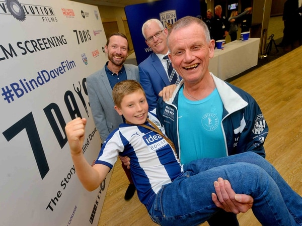 Blind Dave film gets Hollywood treatment with Hawthorns screening