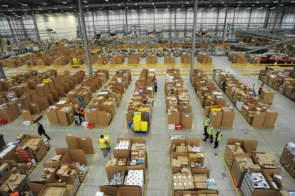 Amazon's Staffordshire warehouse calls in fire crews to ...