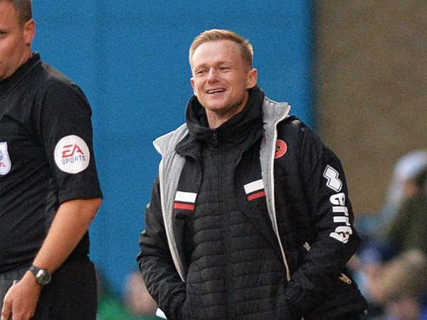 Dean Keates 'over the moon' with his Walsall side after 'difficult few weeks'