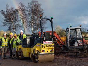 Work to restore Lichfield and Hatherton Canal at Danford