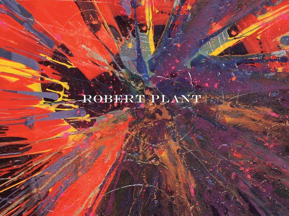 The artwork for Robert Plant's new boxset Digging Deep