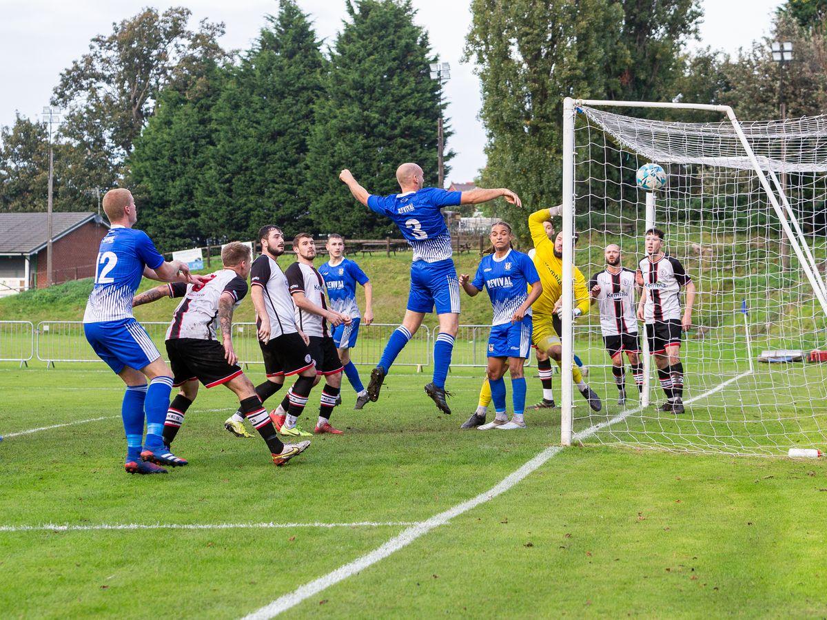 Lye Town - Meacham goal. (Photo: Stuart Leggett)