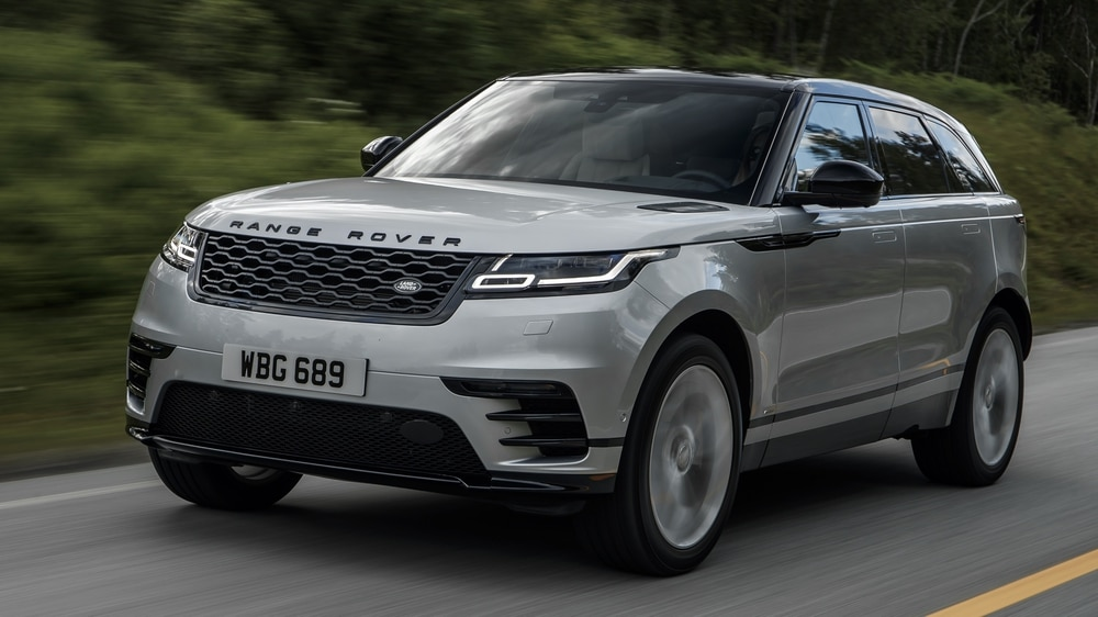 Velar drives record sales for Jaguar Land Rover in the USA | Express