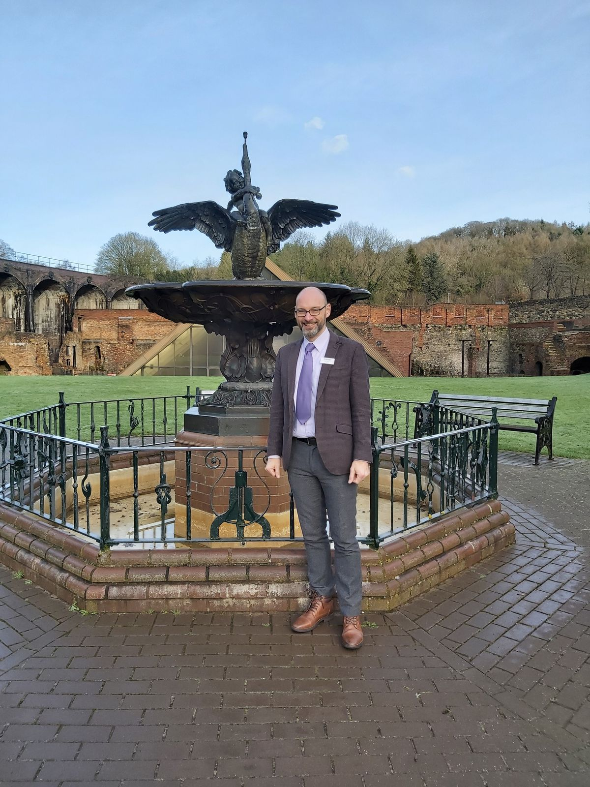 Nick Ralls, chief executive of Ironbridge Gorge Museums