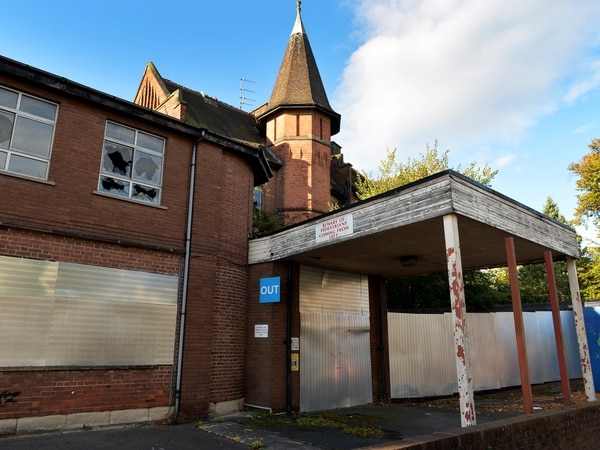 Deadline passed to clear up dilapidated eye infirmary