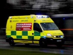 Woman seriously injured in two-car crash
