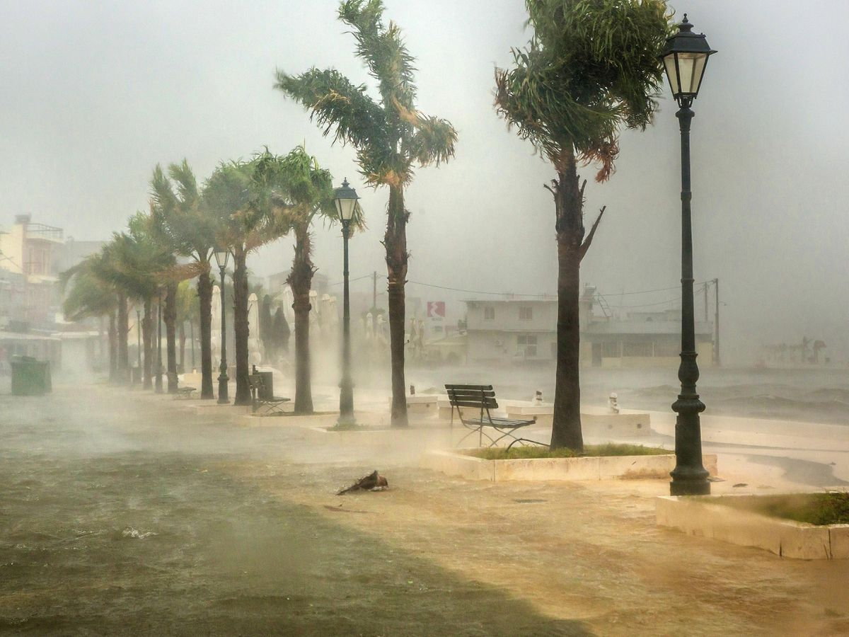 Greece Storm