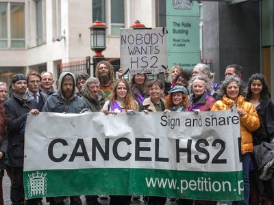 Grayling wins High Court fight against anti-HS2 campaigners over woodland area