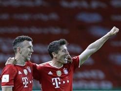 Robert Lewandowski helps Bayern Munich to German Cup final victory