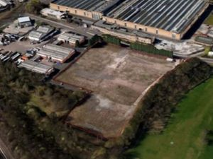 An aerial view of the former Jack Allen Holdings site in Middlemore Lane, Aldridge. PIC: The Planning Group Ltd's design & access statement