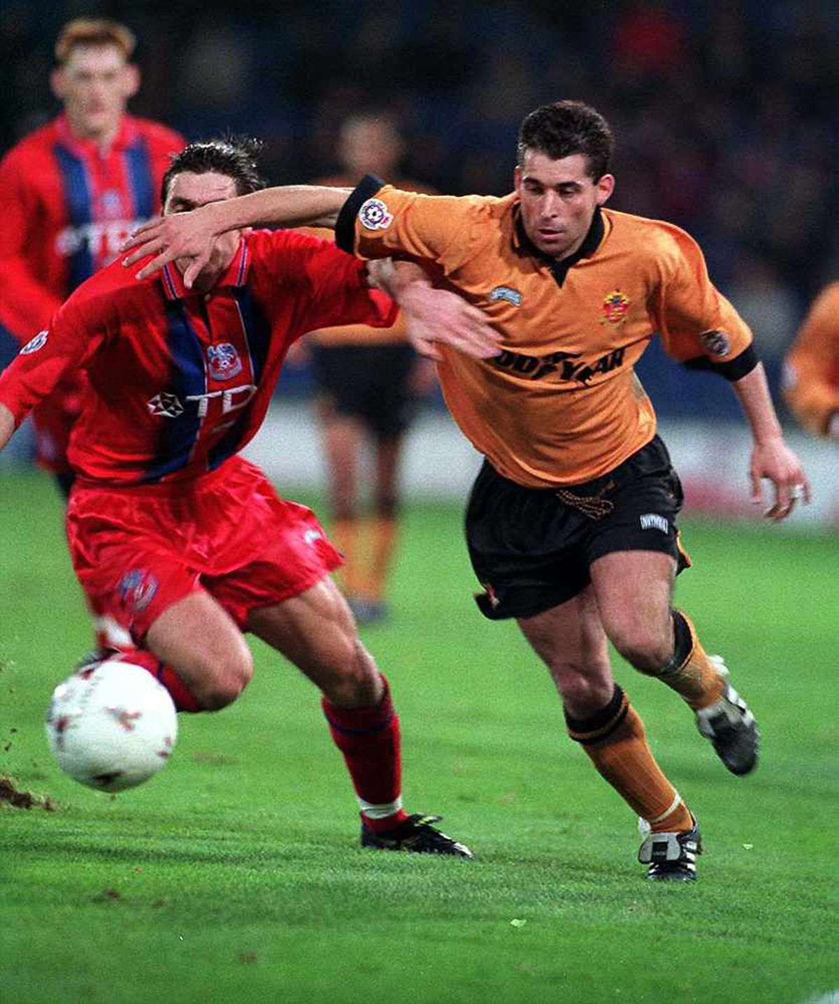 Andy Thompson was a regular under Graham Taylor at Wolves