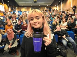 WATCH: Game Of Thrones star Maisie Williams visits Birmingham City University