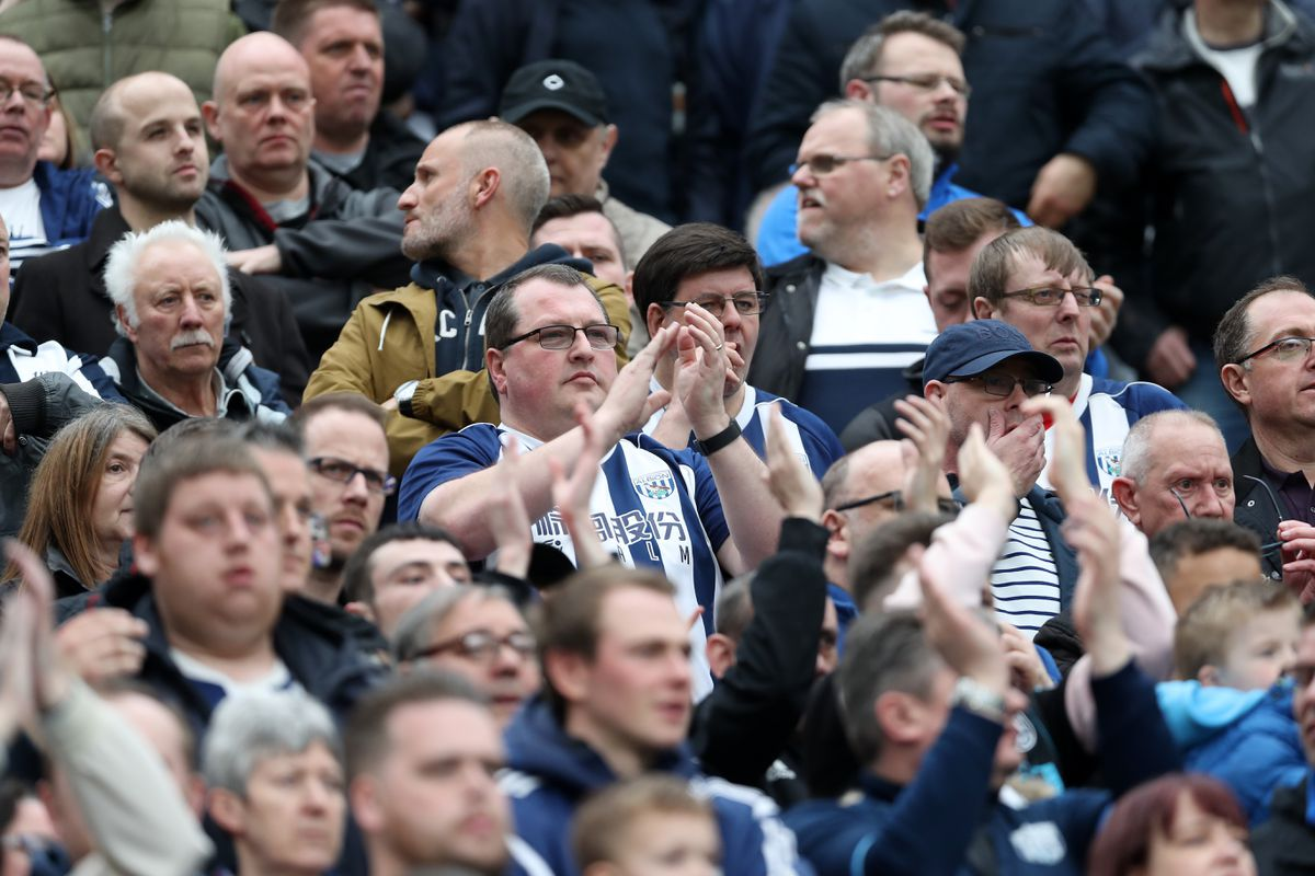 West Brom fans have backed their club's policy to slash ticket prices following their relegation. (AMA)