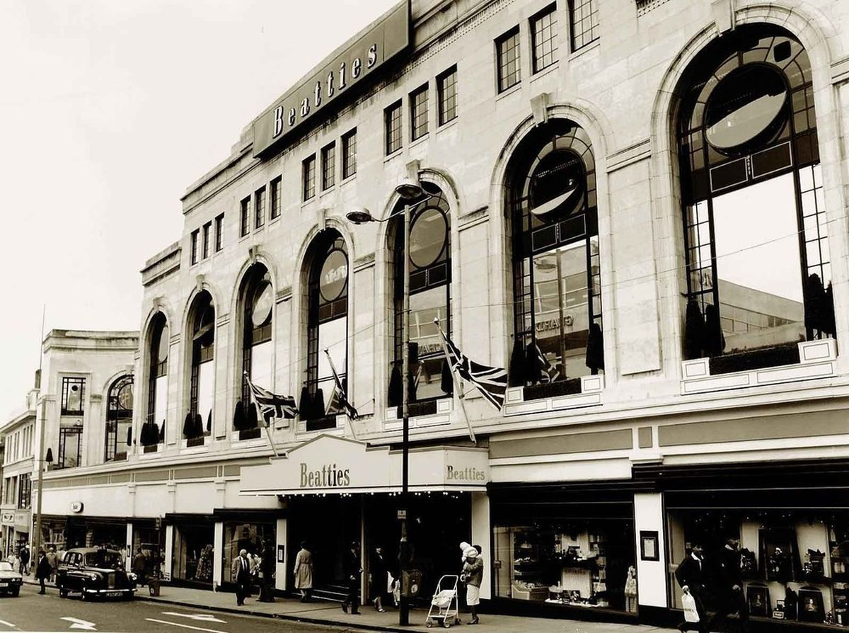 Howthe flagship store looked in the 1970s