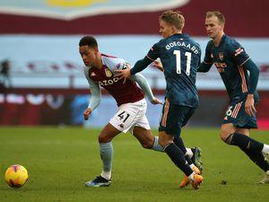 Aston Villa's Jacob Ramsey