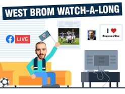 West Brom v Derby watch-a-long with Luke Hatfield - VIDEO