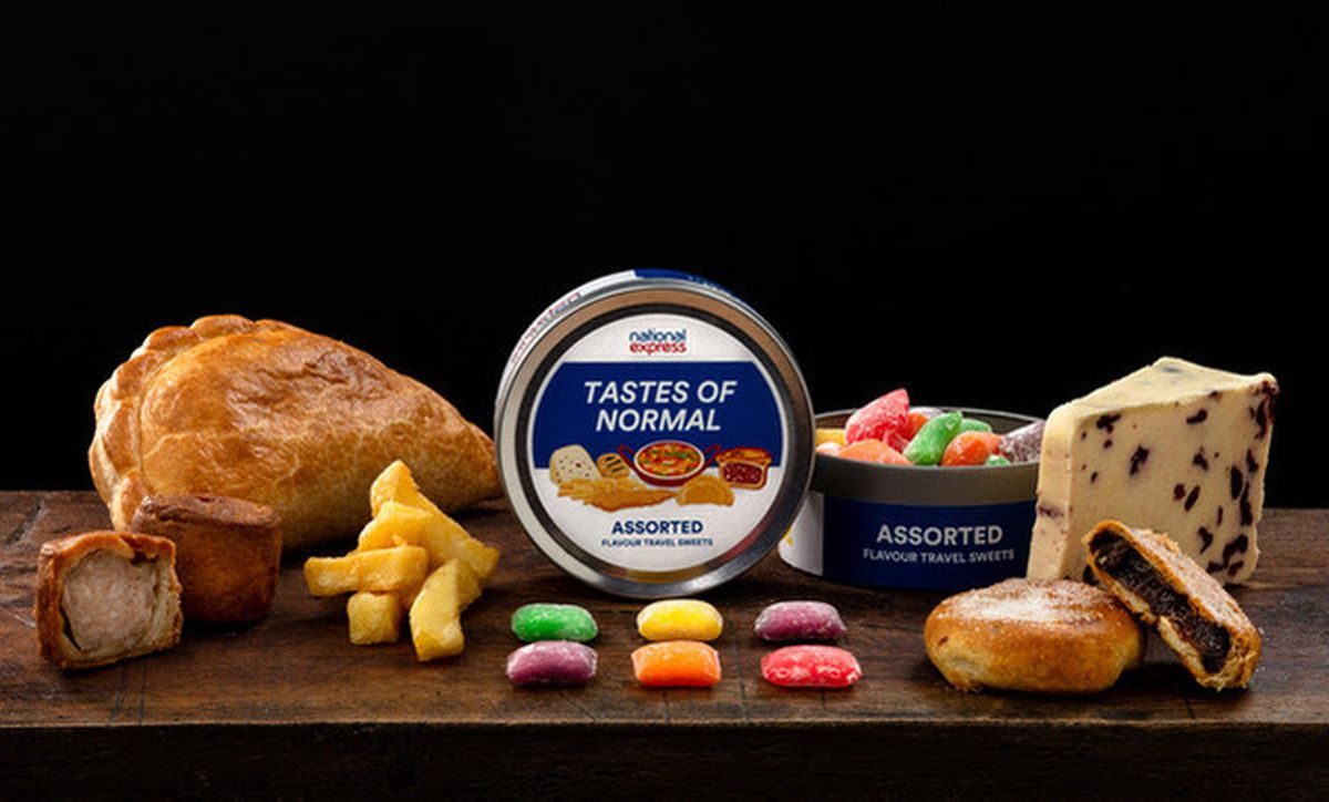 National Express has launched travel sweets that taste of iconic dishes from key UK destinations you can once again visit by coach