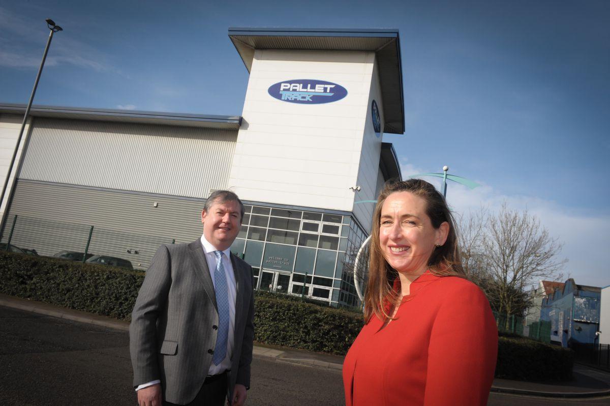 Nigel Parkes and Caroline Green