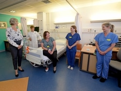 Boris Johnson hails dedicated Russells Hall Hospital staff fighting Covid-19 pandemic