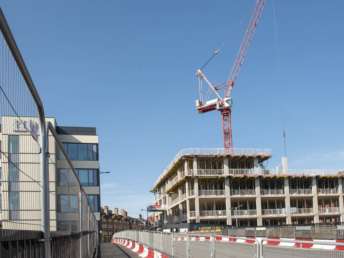 The i9 development is currently under construction near the city's railway station