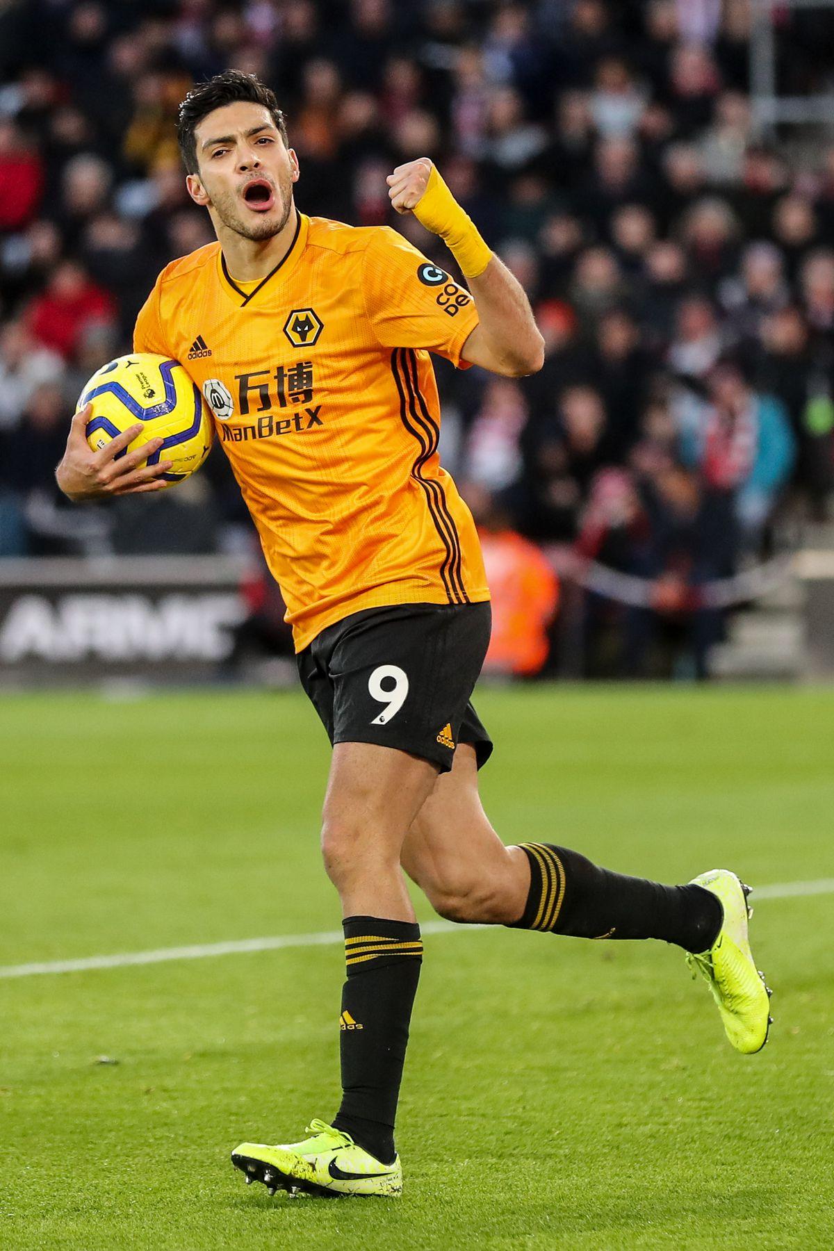 Raul Jimenez of Wolverhampton Wanderers (AMA/Sam Bagnall)