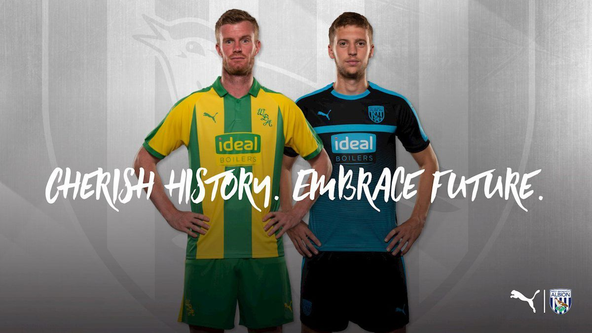 The Baggies launched the kit with this motto.