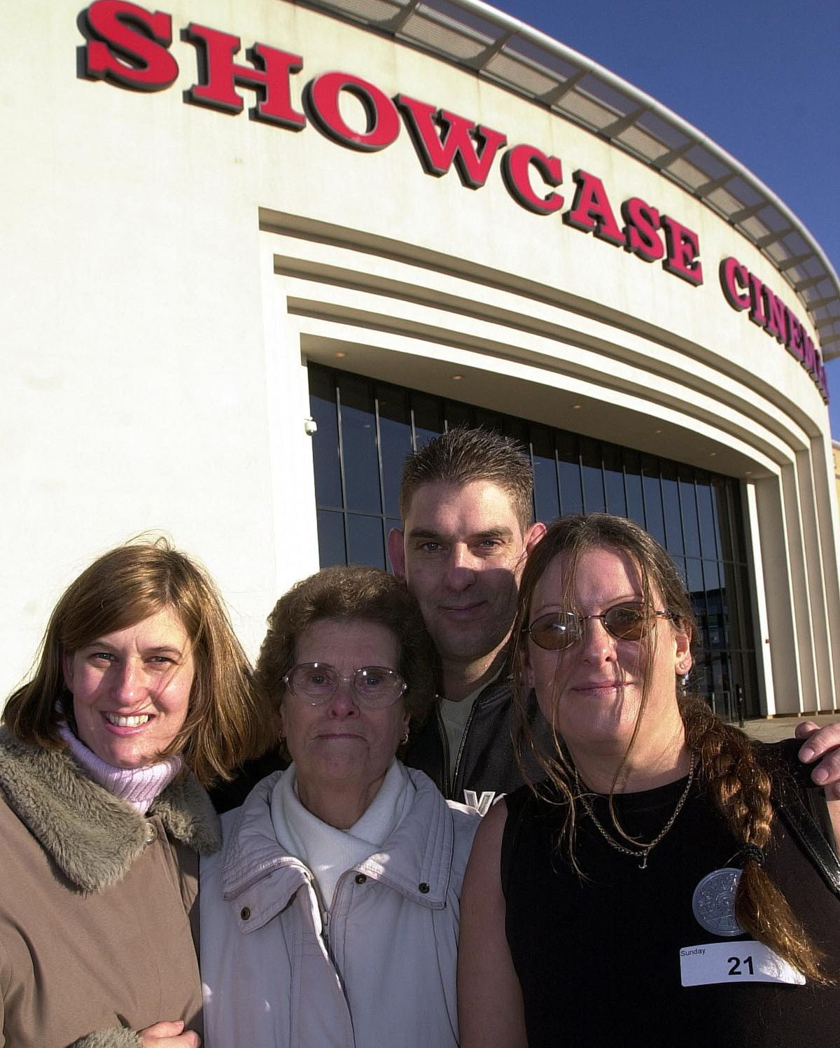Janice Burns with her sister Annette Sibley, mum Margaret Lane and brother Paul Lane