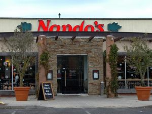 Nando's in Castlegate Way, Dudley, which was targeted by armed raiders