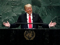 Trump rejects 'global governance' in speech to UN General Assembly