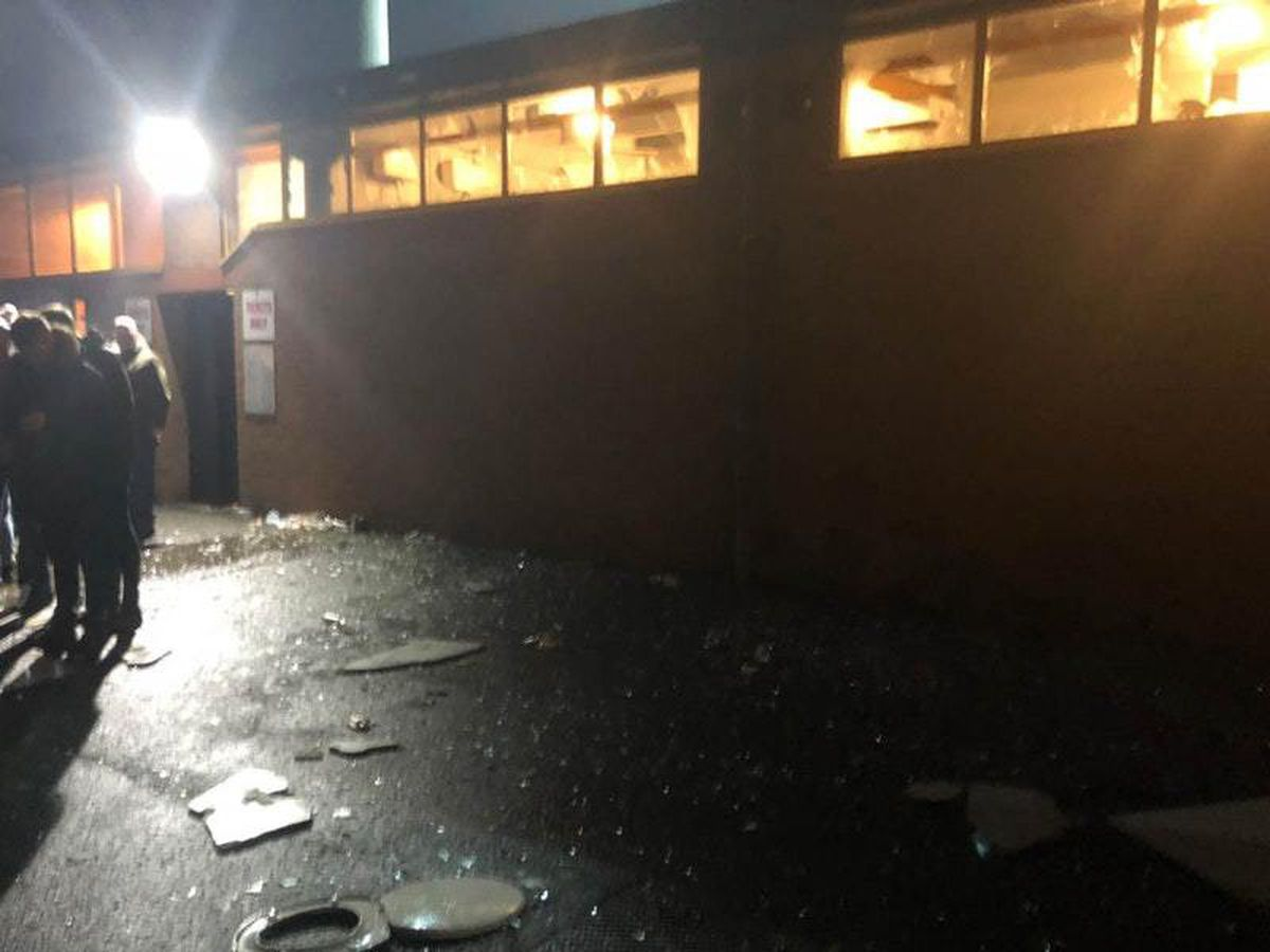 Potteries derby violence