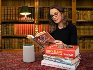 Susie Dent joins with Amazon's Alexa to add hundreds of British words