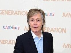 Sir Paul McCartney thanks England for birthday present
