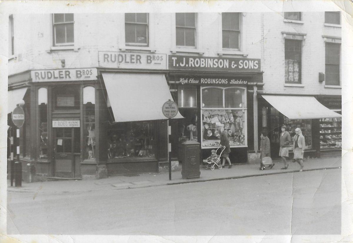 Outside the original Robinson's in Wolverhampton city centre