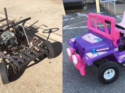 Want to see what a 250cc Barbie Jeep looks like in motion? Of course you do