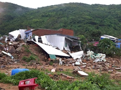 Landslides kill 13 and leave four missing in Vietnam