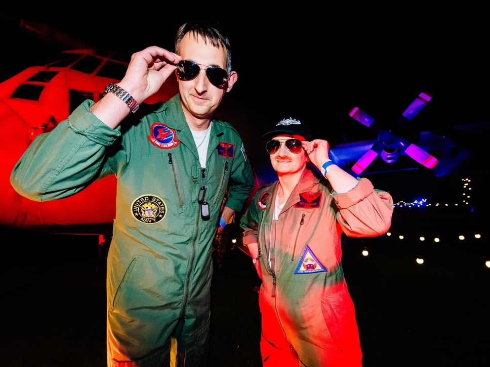 Top Gun takes sell-out crowd's breath away at RAF Cosford