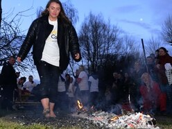 Brave 'soles' tackle fire walk in aid of Wolverhampton charity
