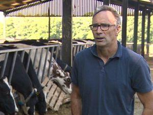 Farmer Henry Bloxham. Photo: BBC Midlands Today