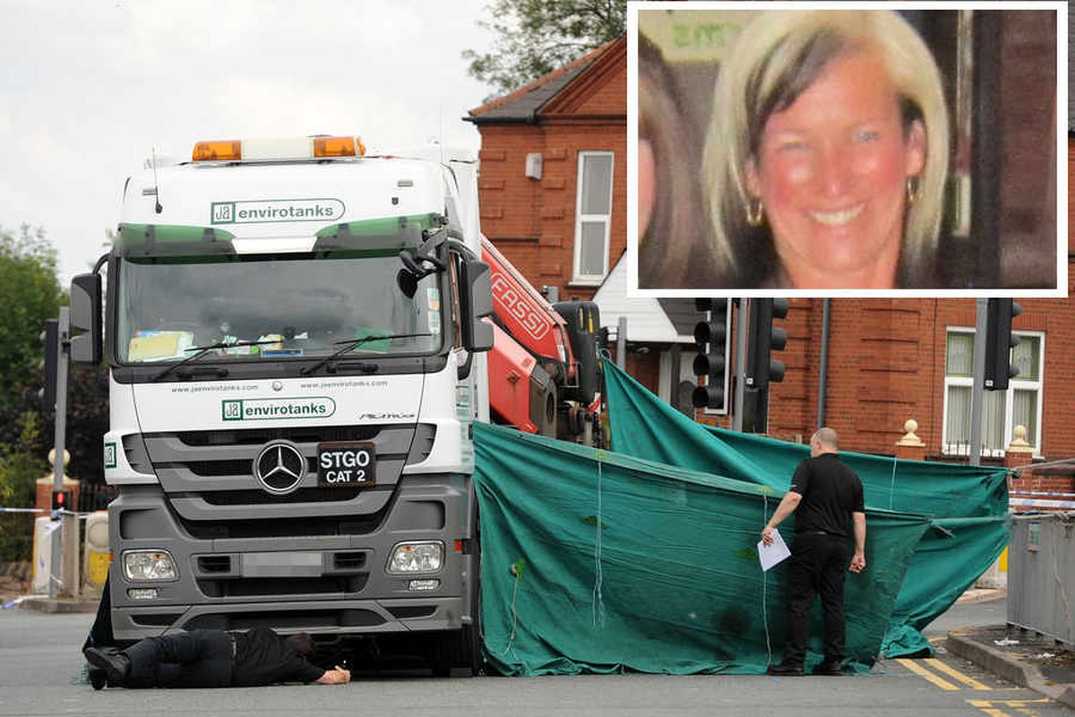 Cyclist killed trying to beat lorry across junction