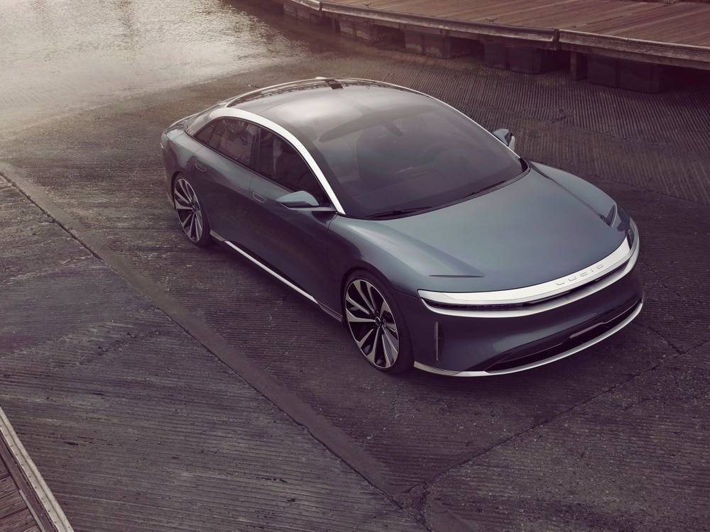 Lucid Motors unveils Air EV, promises 300-miles charging in 20 minutes