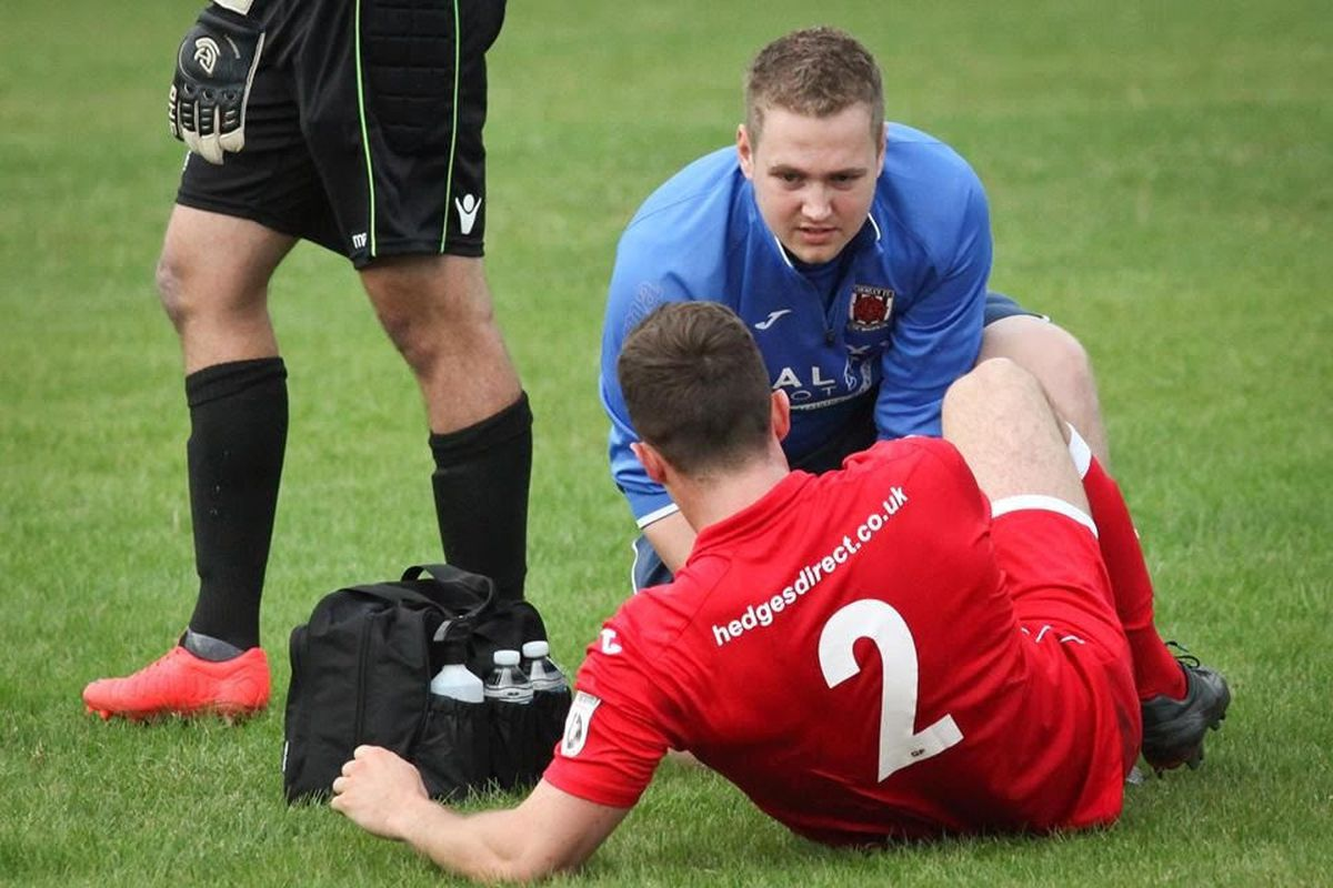 Danny Fishwick during his time at Chorley