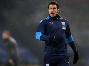 Jake Livermore of West Bromwich Albion during the pre-match warm up.