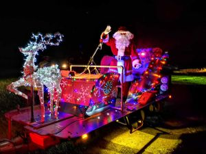 Santa spread some much needed cheer to Penkridge residents