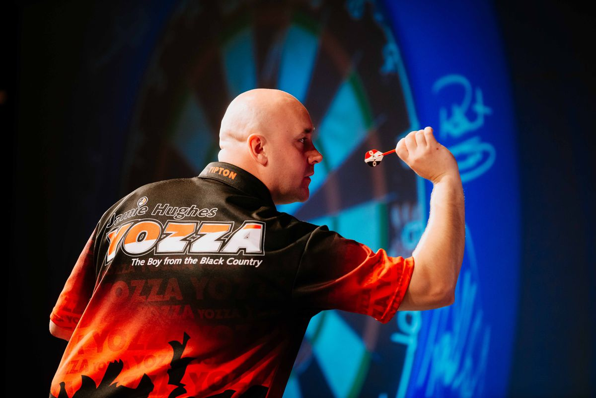 Jamie Hughes handed tough draw at PDC World Darts Championships