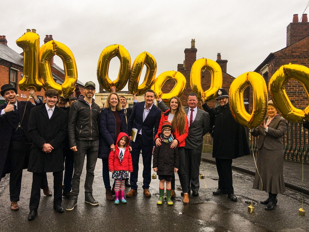 Black Country Museum celebrates its 10 millionth visitor
