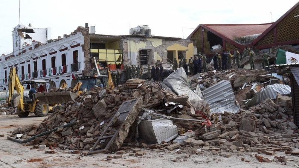 Biggest Earthquake in a Century Strikes Mexico; Hurricane Near
