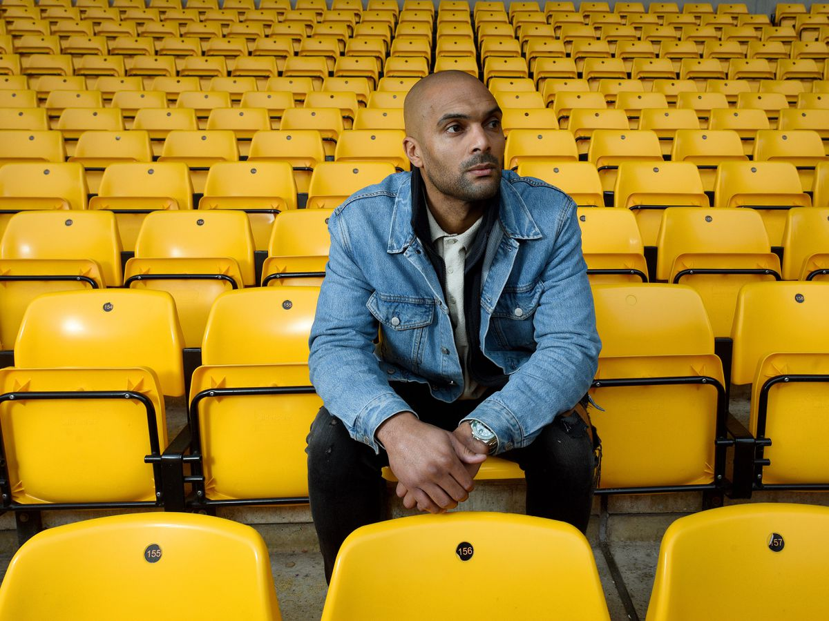 SPORT COPYRIGHT EXPRESS&STAR TIM THURSFIELD 21/11/19.Pics for an exclusive interview with Carl Ikeme ahead of the release of his new book about his battle with leukaemia. ...