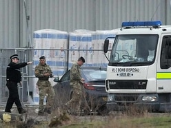Controlled explosion carried out on suspected mortar found near Burntwood Morrisons